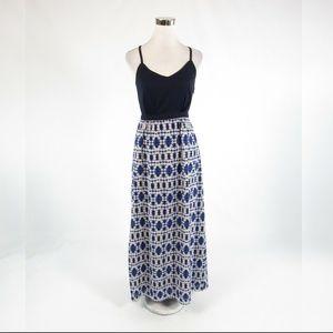 Light gray blue J. CREW maxi dress 00
